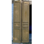 Pair of large doors end of 19th century