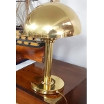 Ship mushroom lamp brass Art Déco