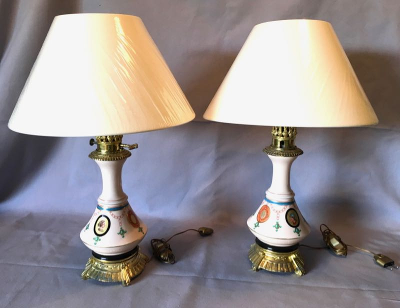 PAIR OF ART NOUVEAU PERIOD WALL LIGHTS