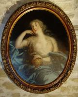 17th century french Painting, Portrait of a countess