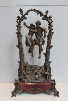 SPELTER SCULPTURE