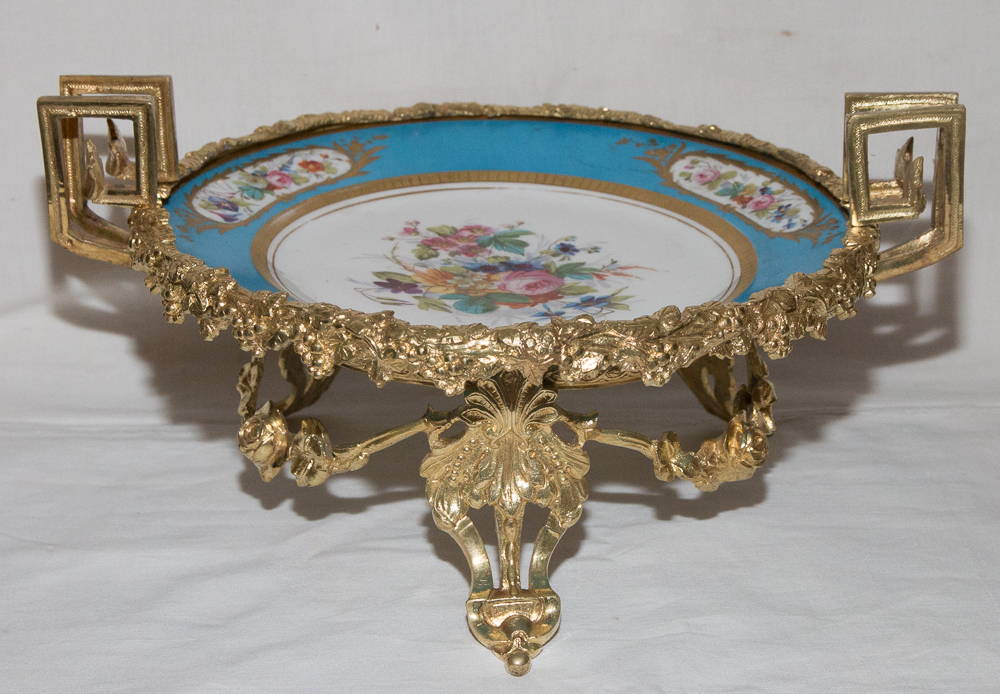 LOUIS PHILIPPE PERIOD BOWL IN SEVRES PORZELLAN