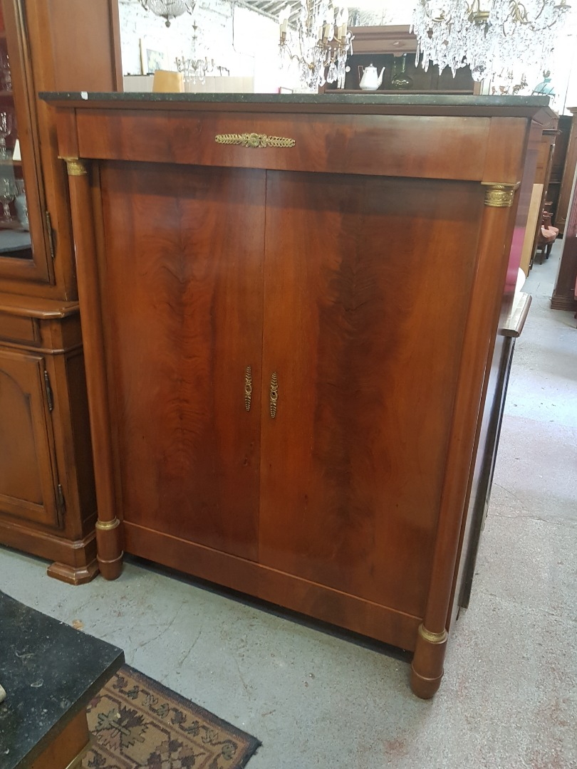 FRENCH EMPIRE STYLE CUPBOARD