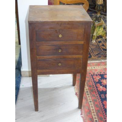 Very Small Chest Of Drawers Between Two Three Drawers Directoire Period XVIII Rustic Eme