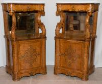 PAIR OF CHARLES X PERIOD CABINETS