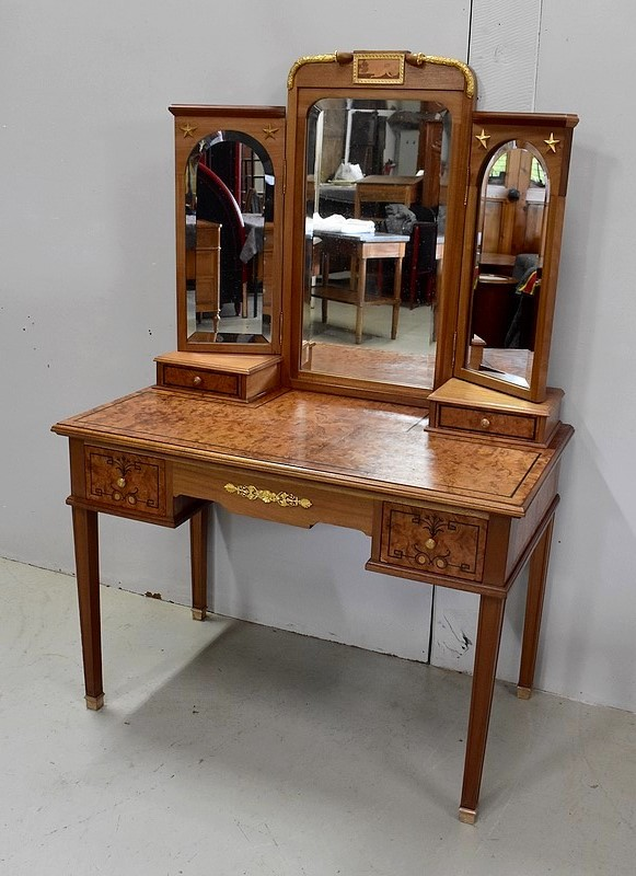 FRENCH DIRECTOIRE STYLE DRESSING TABLE