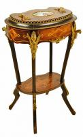 NAPOLEON III PERIOD TABLE ATTRIBUTED TO DIEHL