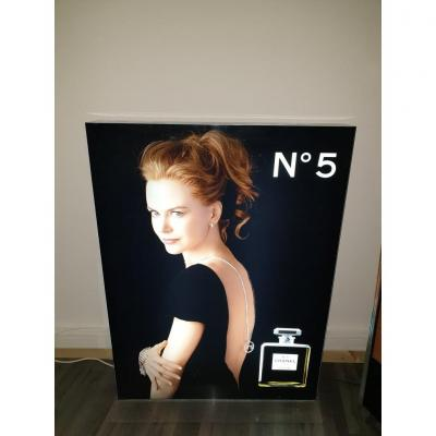 Large Rare Panel Chanel Loft 1 Ere series / print Nicole Kidman