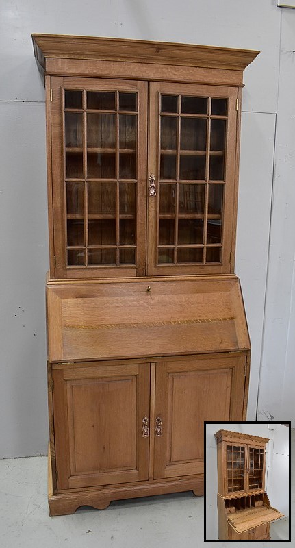 ENGLISH BUREAU BOOKCASE