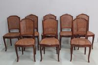 FRENCH TRANSITION STYLE CHAIRS