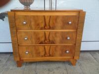 ART DECO STYLE CHEST OF DRAWERS