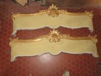 PAIR OF GILTWOOD PELMETS
