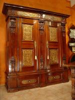 Early 17th C Castle Armoire Germany