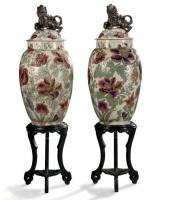 Covered vases CHINA
