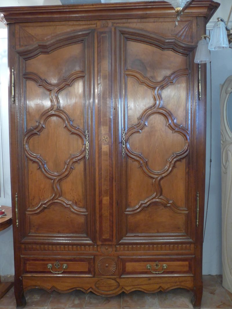 19th C ARMOIRE