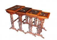 NEST OF TABLES SIGNED DAÏ NIPPON