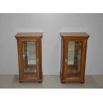 PAAR DISPLAY CABINETS