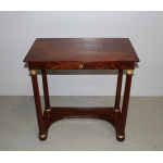 FRENCH EMPIRE PERIOD CONSOLE TABLE