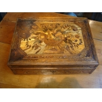 STROH MARQUETRY BOX