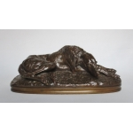 BRONZE GREYHOUND signierte Gayrard.