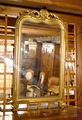 Golden mirror Napoleon III - nineteenth